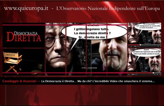 Democrazia Diretta - Movimento 5 stelle - Casaleggio