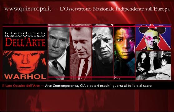 Il lato occulto dell'arte - CIA e Poteri Occulti
