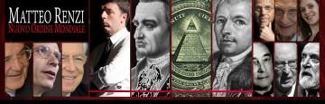 Renzi - Nuovo Ordine Mondiale