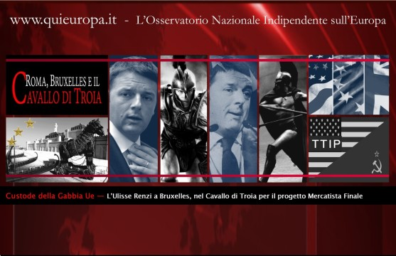 Semestre Italiano - Ttip - Renzi - Bruxelles