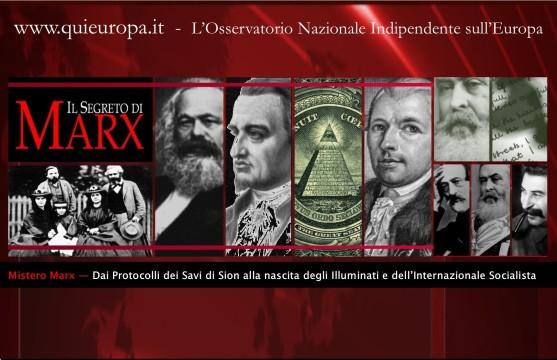 mistero marx - protocolli dei savi di sion e internazionale socialista