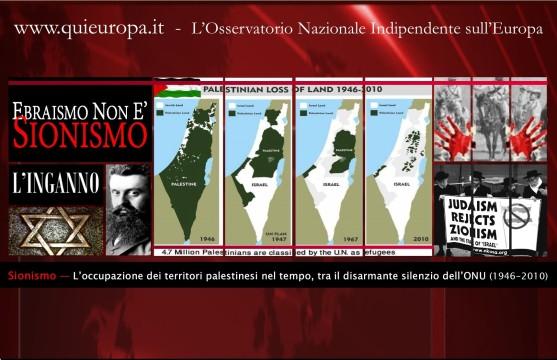 occupazione dei territori palestinedi dal 1945 al 2010
