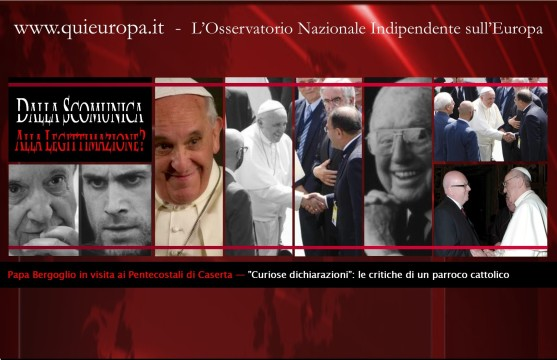 pentecostali - Papa Bergoglio