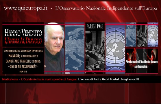 Padre Henri Boulad - Medioriente - New World Order