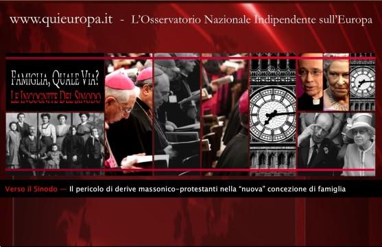 sinodo - famiglia - massoneria - protestantesimo