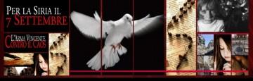 7 settembre - giornata di preghiera per la siria