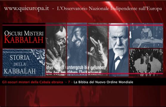 Cabala - Bibbia del Nuovo Ordine Mondiale