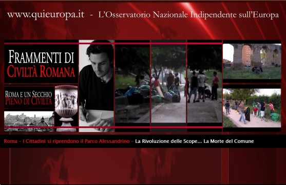 Roma - I Cittadini si Riprendono il Parco Alessandrino - Poetainazione - Il VIDEO