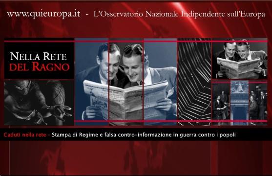 caduti nella rete - giornalismo di regime e falsa controinformazione contro i popoli