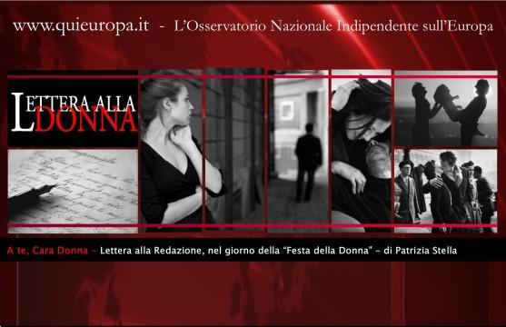 Lettera alla Donna - di Patrizia Stella