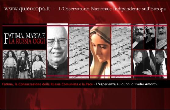 Padre Amorth - Fatima - Russia - Comunismo