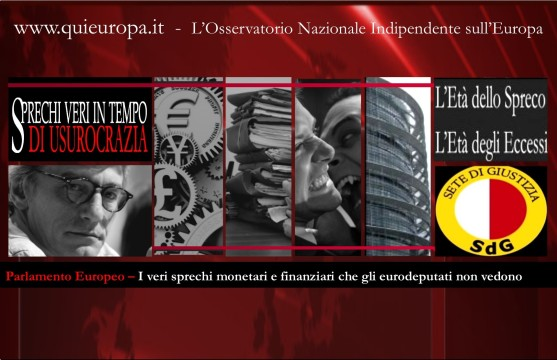 Parlamento europeo - sprechi - moneta - david sassoli