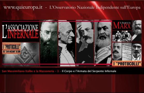 San Massimiliano Kolbe e la Massoneria - L'armata infernale - Terza Parte
