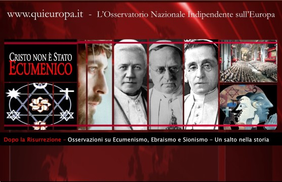 Ecumenismo ed Ebraismo - Dopo la Risurrezione di Gesù