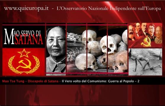 Il vero volto del Comunismo - Mao - Nuovo Ordine Mondiale