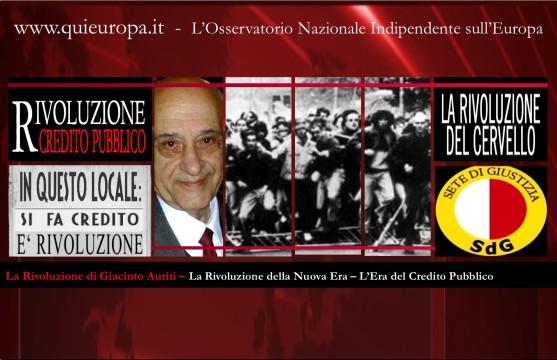 L'Era del Credito Pubblico - Giacinto Auriti
