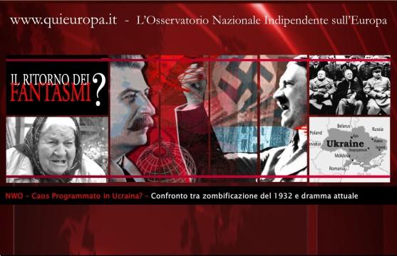 Ucraina - Nuovo Ordine Mondiale