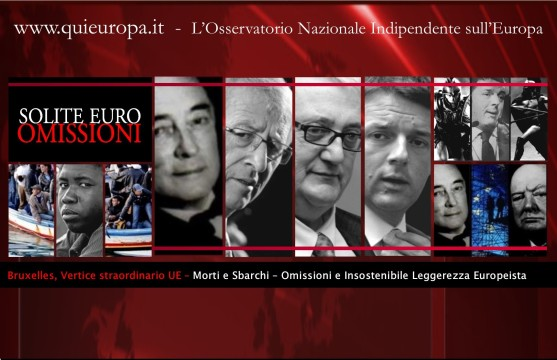 Vertice UE - Morti Mediterraneo