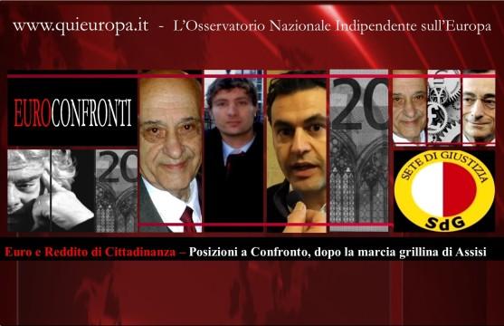 Cosimo Massaro - Sergio Basile - sete di giustizia - reddito di Cittadinanza - Beppe Grillo contro Auriti