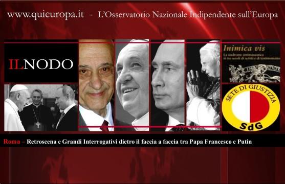 Putin Papa Francesco