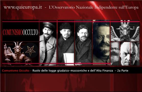 comunismo occulto - satanismo - alta finanza
