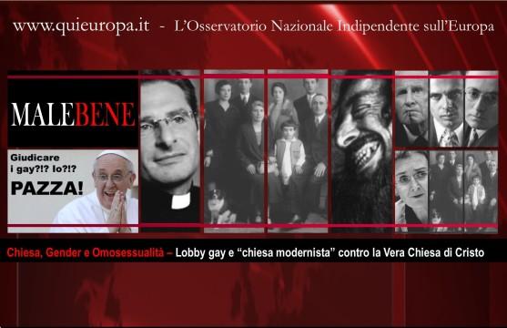 Lobby Gay - contro la Vera Chiesa di Cristo