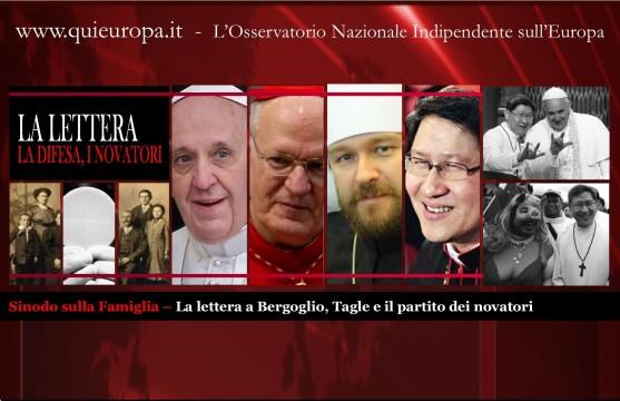 Sinodo Famiglia - Tagle - Novatori - Lettera Cardinali