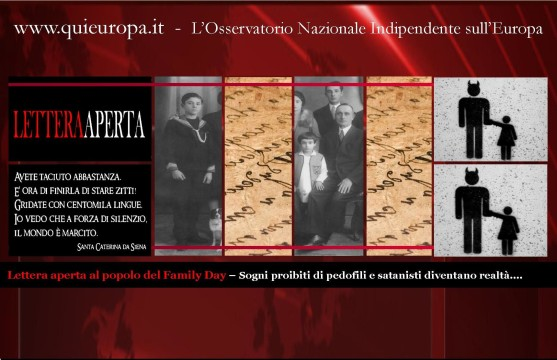 Lettera Aperta - Family Day