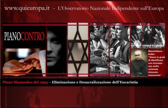 piano massonico contro Eucaristia del 1995