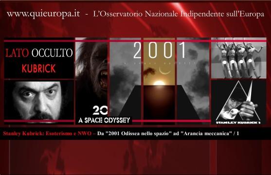 Stanley Kubrick - Esoterismo e NWO - 2001