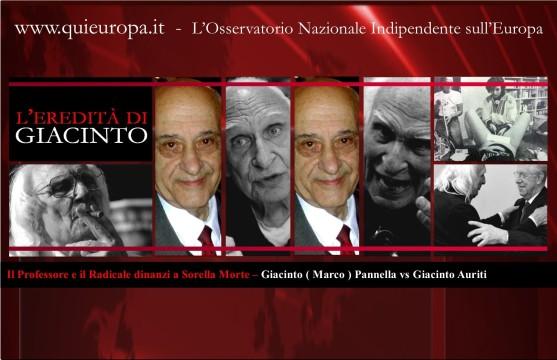 Pannella vs Giacinto Auriti
