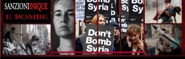 Siria, Ue, Sanzioni e Bombe