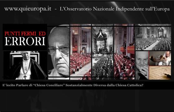Chiesa Conciliare - Don Curzio Nitoglia