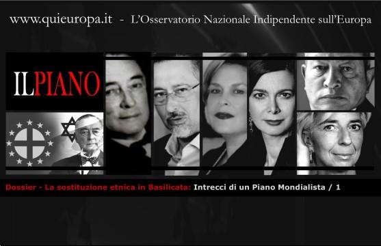 La sostituzione etnica in Basilicata - Intrecci di un Piano Mondialista - 1