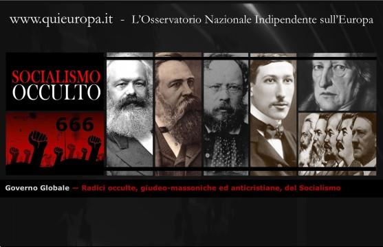 Radici occulte, giudeo-massoniche ed anticristiane, del Socialismo