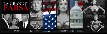 Trump-Clinton - la Grande Farsa — Retroscena di un finto duello già deciso