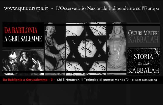 Prodotti della Cabala - Gnosticismo, Panteismo, Sincretismo, Darwinismo, Marxismo