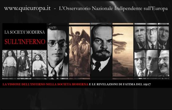VISIONE DELL'INFERNO NELLA SOCIETA MODERNA