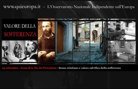 S. Pio da Pietrelcina - Senso cristiano e valore salvifico della sofferenza