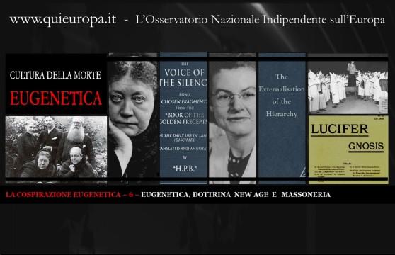 Dottrina New Age, Eugenetica, Massoneria