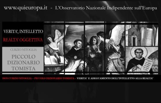 DON CURZIO NITOGLIA – PICCOLO DIZIONARIO TOMISTA