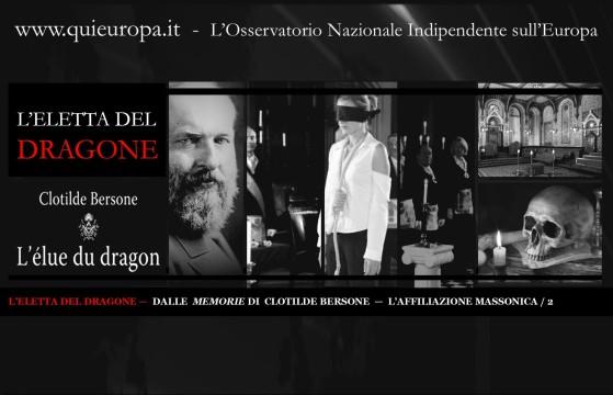 CLOTILDE BERSONE  —  L'AFFILIAZIONE MASSONICA