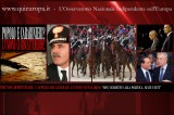 Popolo ed Esercito uniti contro questi Mascalzoni: l'Appello del Generale Pappalardo