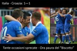 """Speciale Euro 2012: Italia – Croazia 1-1, Ora si teme il """"Biscotto"""""""