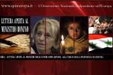 Siria – Lettera Aperta al Ministro degli Esteri, Emma Bonino