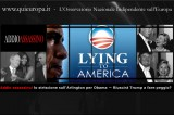 Addio assassino: lo striscione sull'Arlington per Obama. Riuscirà Trump a fare peggio?