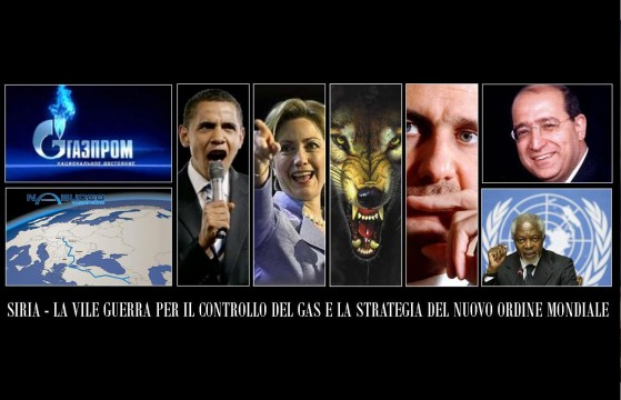 Siria e gas - New Worl Order
