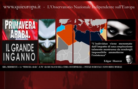 Siria e New World Order