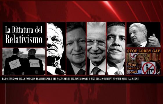 Mario Monti e Daria Bignardi - Omosessuali