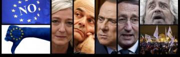 Beppe Grillo - Marine Le Pen